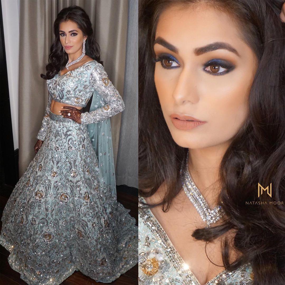 Baju Pernikahan Sanjana, Menantu Raam Punjabi yang Mewah ...