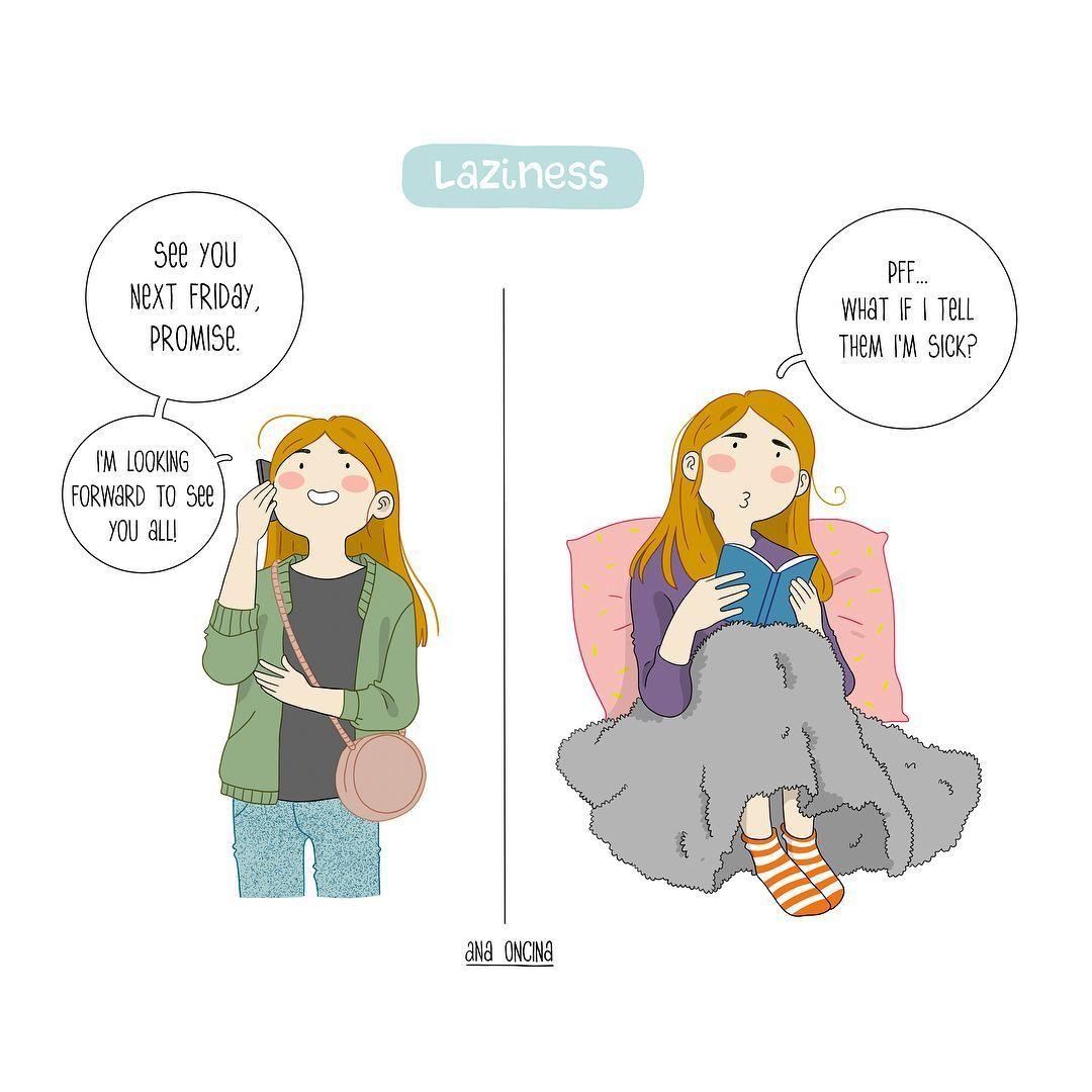 12 Ilustrasi Ini Menggambarkan Sisi Lain Perempuan