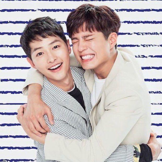 10 Momen Manis Persahabatan Park Bo Gum & Song Joong Ki, Bro Banget!