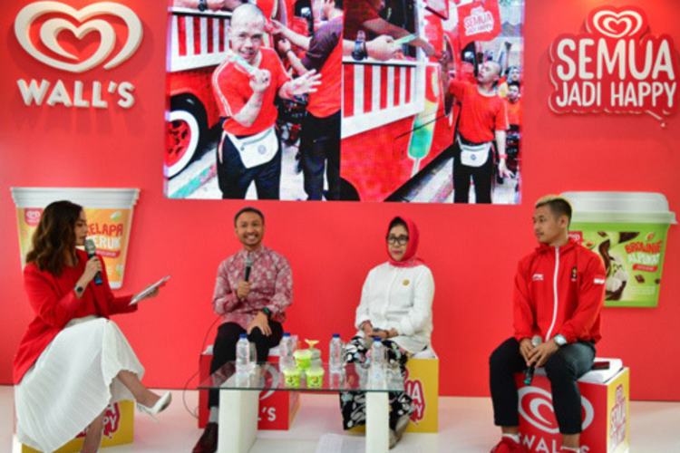 Eskrim Ini Memberikan Kebahagiaan dan Memperkuat Persatuan Indonesia