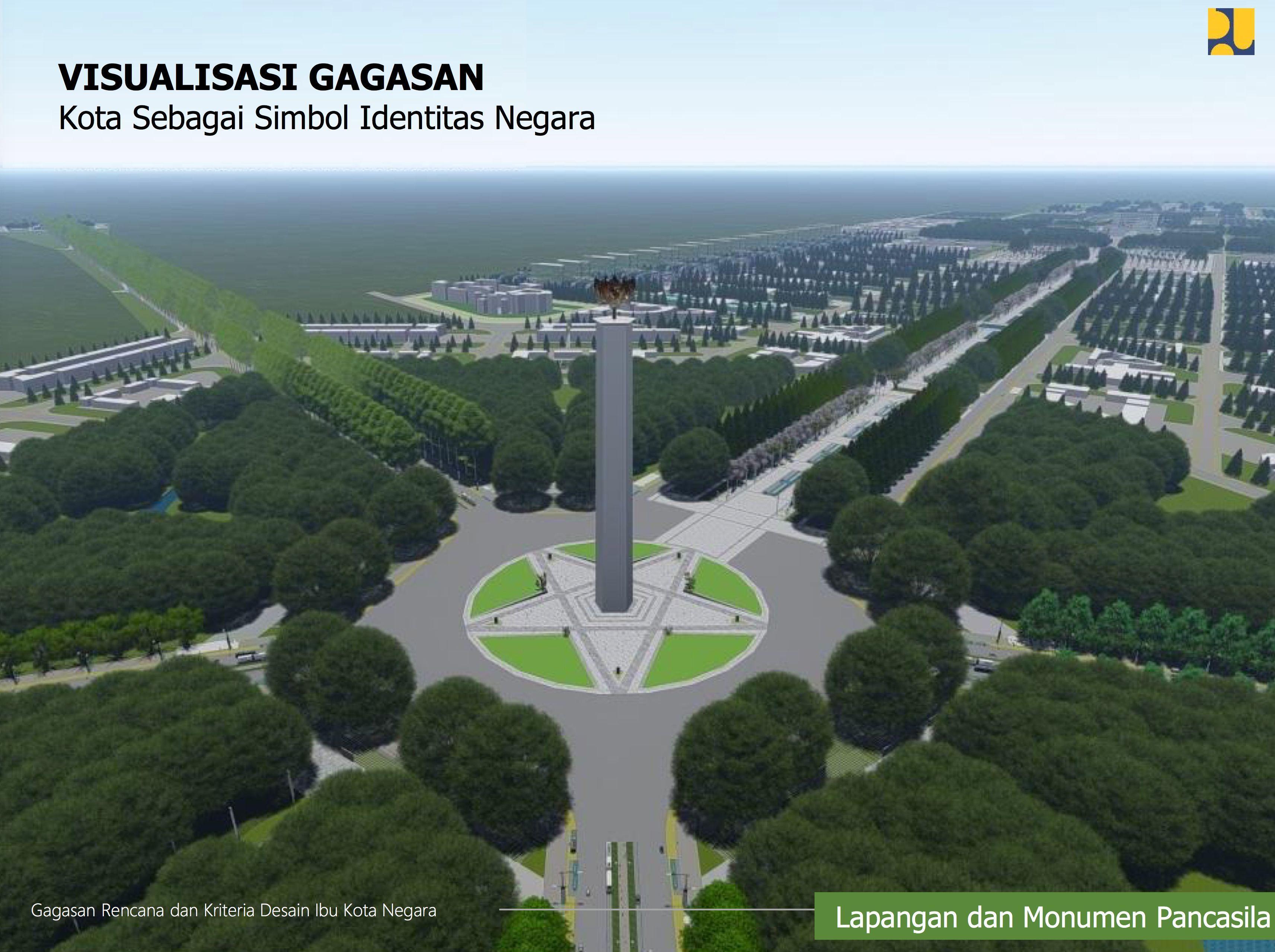 Bikin Iri, Penuh Ruang Hijau Ini Desain Ibu Kota Baru di Kalimantan