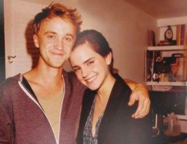 Dikabarkan Pacaran, Ini Potret Kebersamaan Emma Watson dan Tom Felton