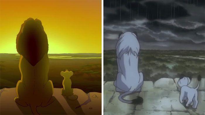 Dituduh Menjiplak, Ini 16 Foto Perbandingan The Lion King dan Kimba