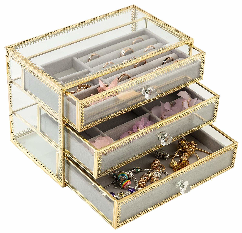 Cara Mudah Menyimpan Perhiasan Mahal
