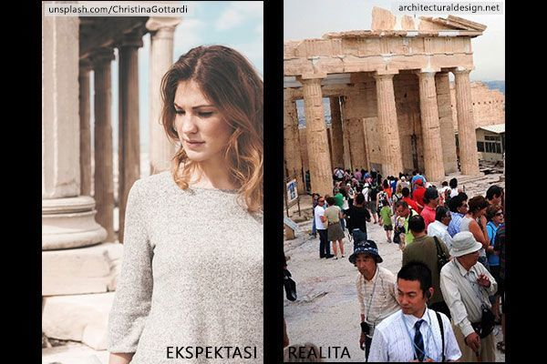 Ekspektasi VS Realita Ketika Kamu Berlibur ke Tempat Terkenal Dunia