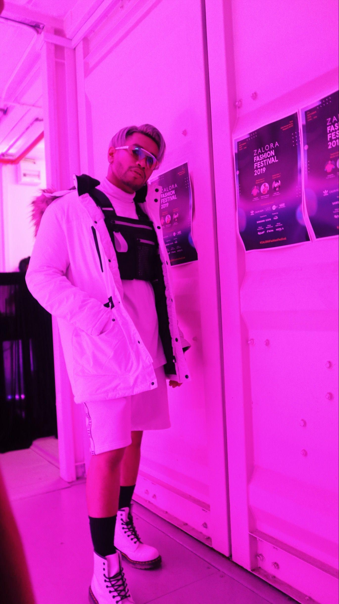 10 Gaya Urban Disco Influencer di Zalora Fashion Festival Singapura