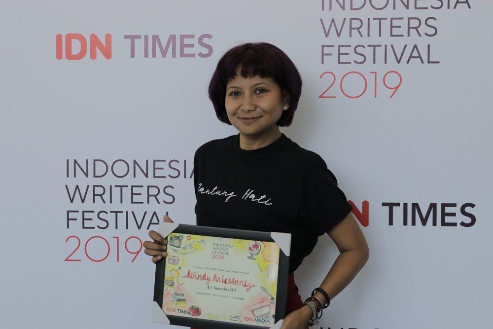 4 Cara Mengatasi Writer's Block a la Windy Ariestanty