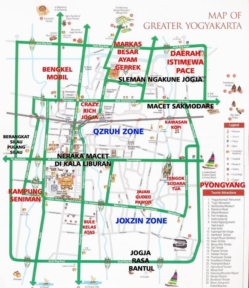 Dari Jakarta Hingga Surabaya, 11 Meme Peta Indonesia yang Kocak