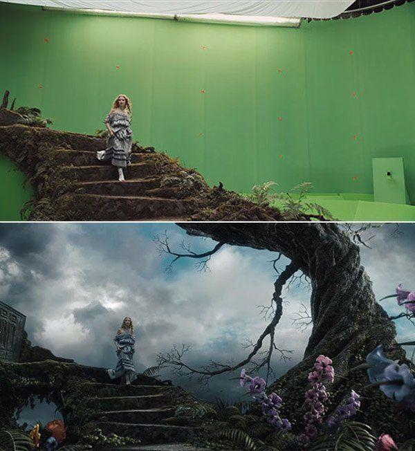 Keren! Tampilan 15 Film Populer Sebelum & Sesudah Diedit Efek CGI