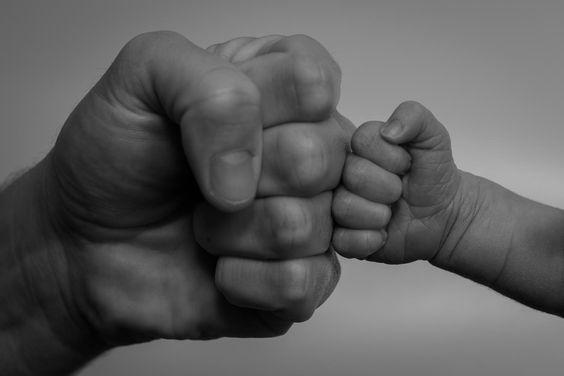 картинки руки папы и сына действительно