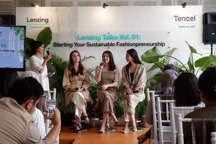 Gandeng Alice Norin dan NP Malina, Lenzing Bahas Sustainable Fashion