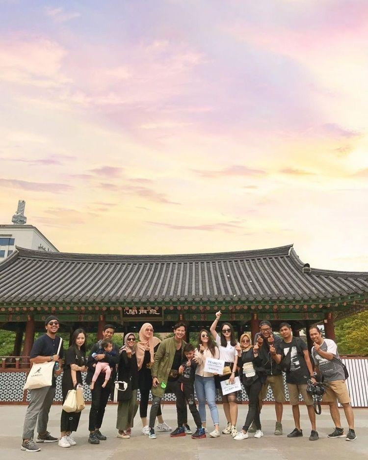 Serasa Bulan Madu, 9 Potret Liburan Fairuz & Sonny ke Korea Selatan