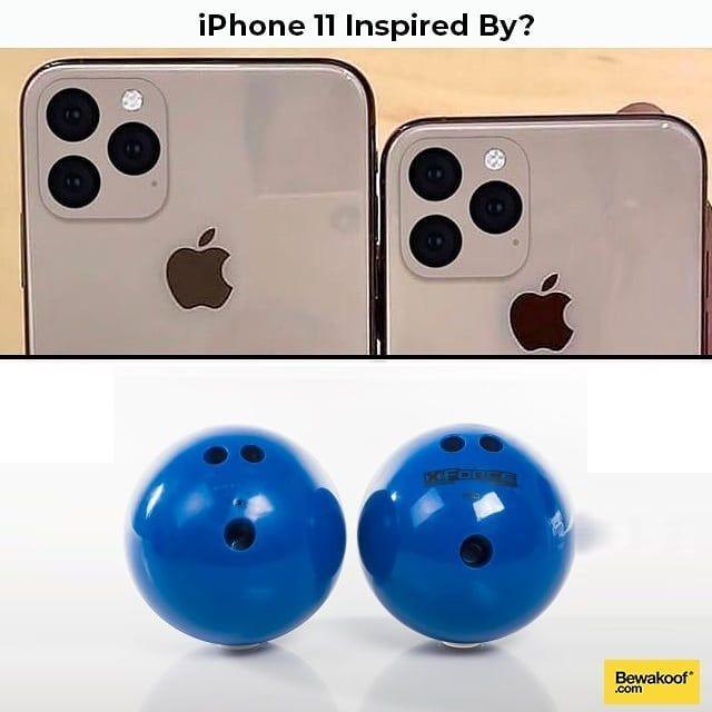 Punya Desain Tak Biasa, 11 Meme ini Sindir iPhone 11