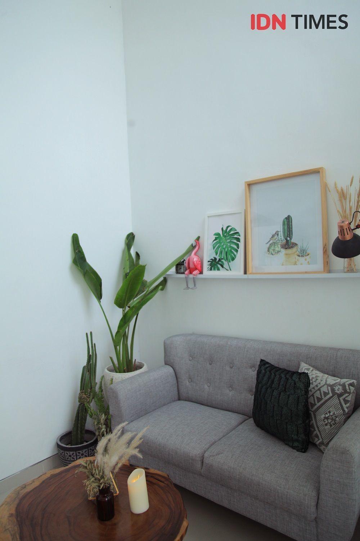 Dekorasi Rumah Tipe 36 Berkonsep Urban Jungle buat Pasangan Muda