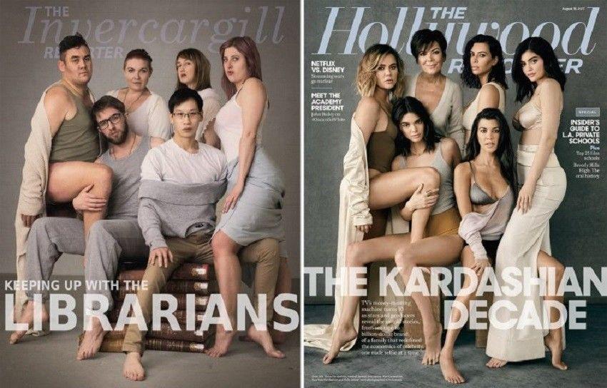 10 Parodi Foto Keluarga Kardashians Terkonyol yang Bikin Tertawa
