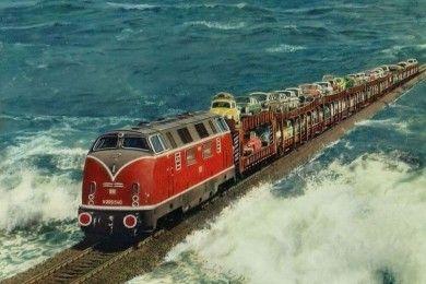 7 Jalur Kereta Api Terkeren Terindah Dunia