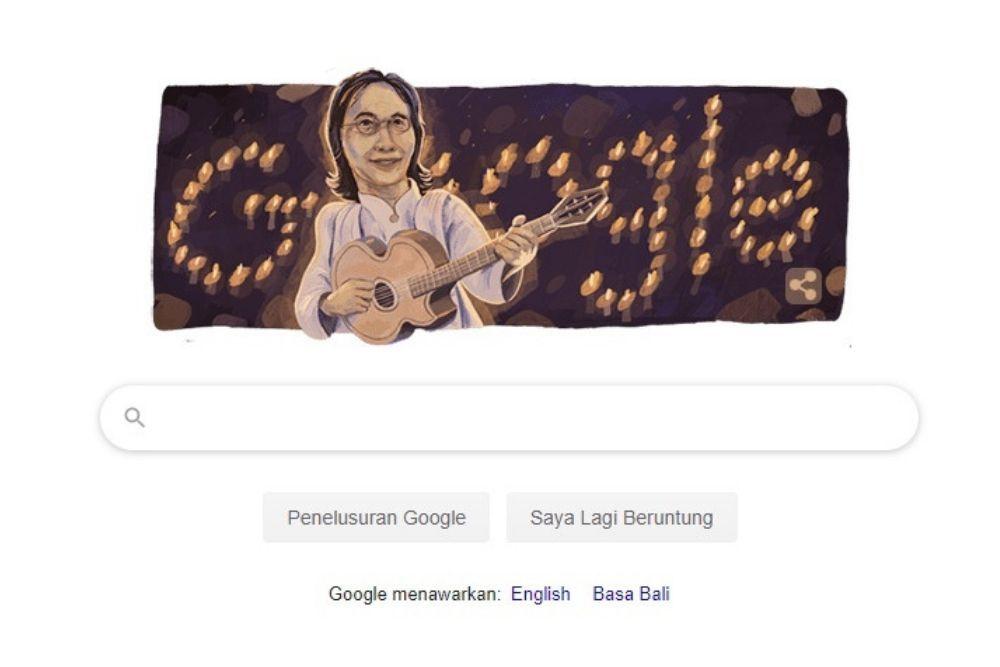 Jadi Google Doodle, Ini 10 Lagu Chrisye yang Paling Diingat
