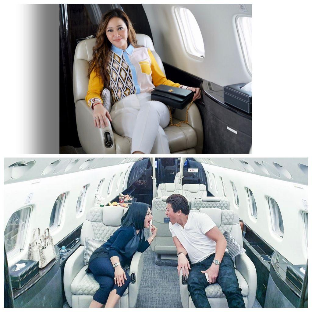 Ngaku Punya Mertua, Jet Pribadi Syahrini Mirip dengan Maia Estianty?