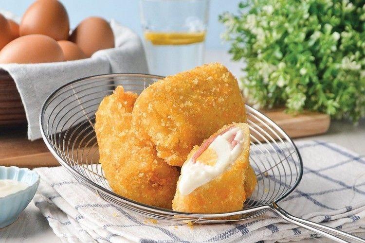 Resep Risol Kornet Keju Telur