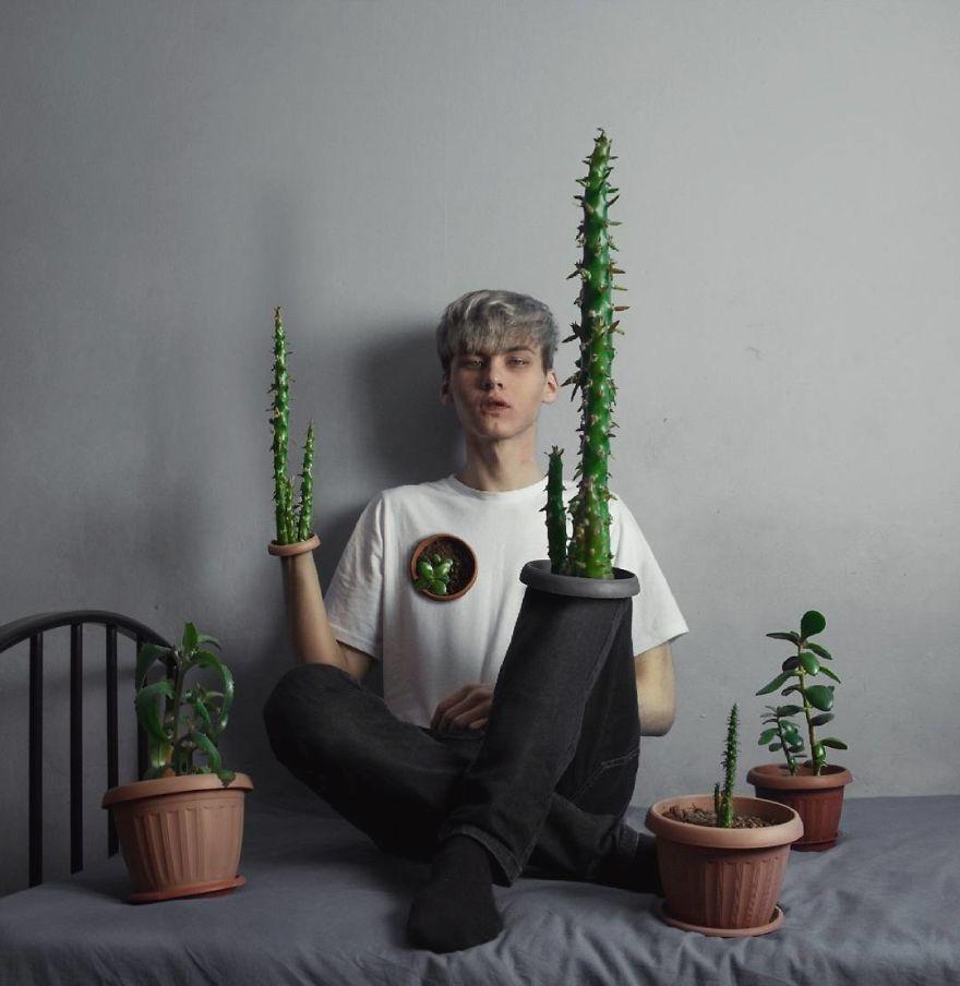 15 Seni Surealis Pemuda Rusia Ini Bikin Merinding, Berani Lihat?