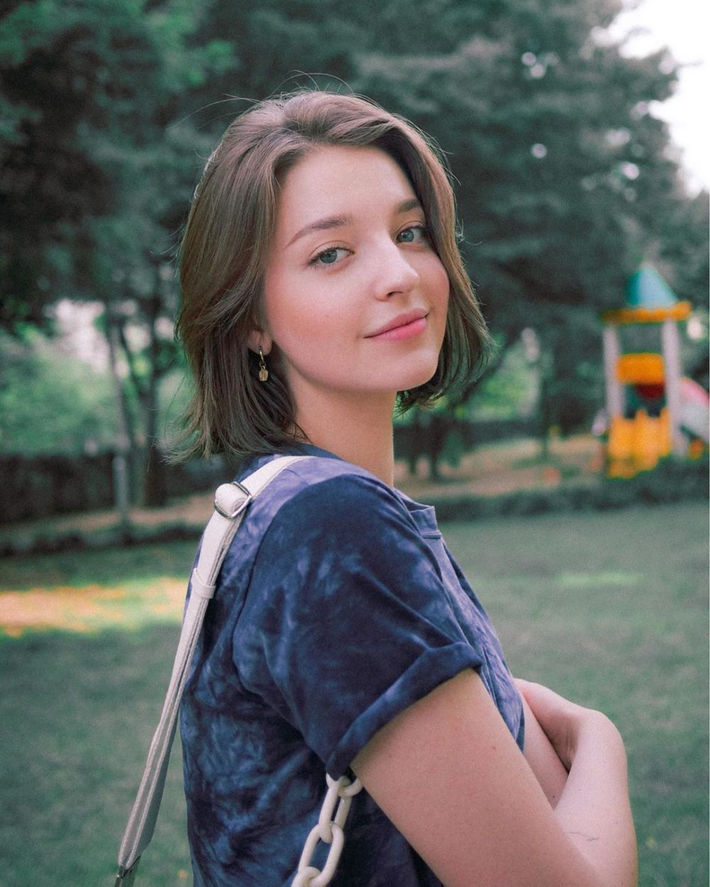 10 Potret Danilova Angelina, Bidadari Rusia yang Berkarier di Korsel!