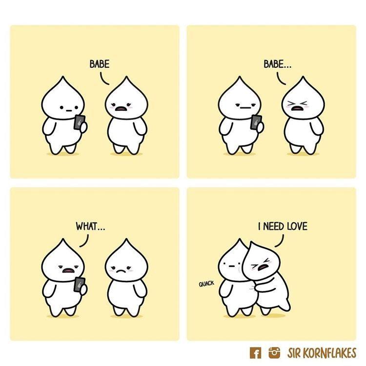 Bikin Gemas! Intip 9 Ilustrasi Pasangan yang Saling Mencintai