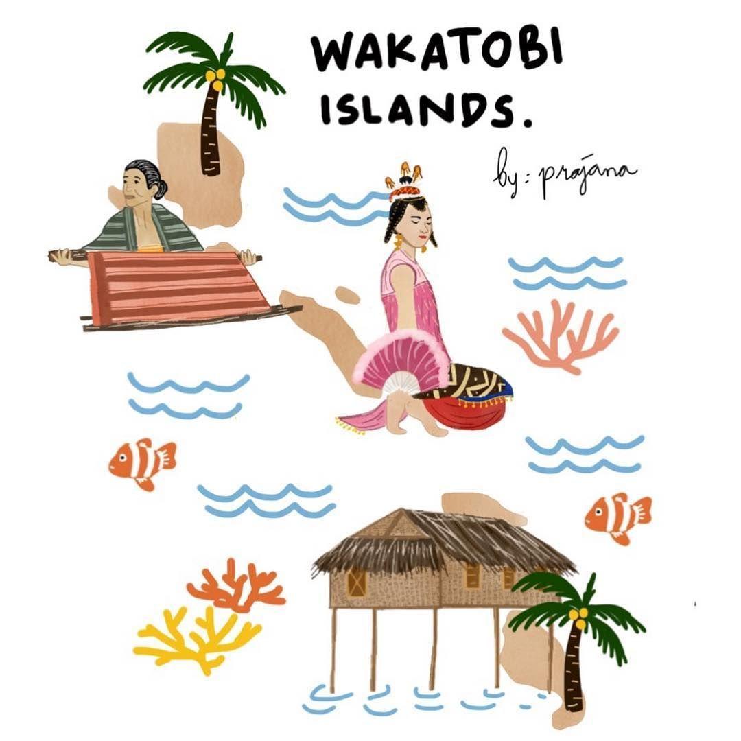 Mengenal Kekayaan Budaya dan Keindahan Indonesia Lewat Ilustrasi