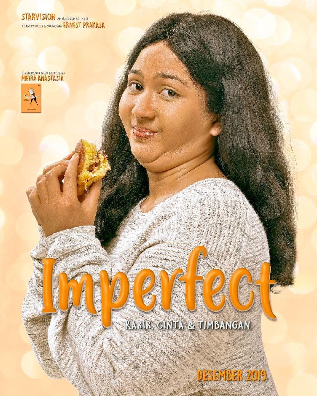 Totalitas Jessica Mila dan Fakta Seru Lain di Film Imperfect