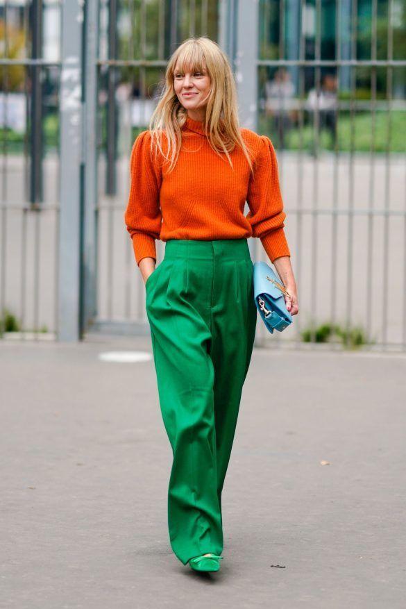 Cara Baru Mix & Match Baju Warna Orange