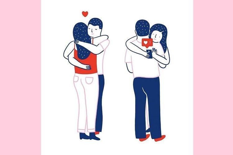 11 Ilustrasi tentang Cinta dari Agathe Sorlet