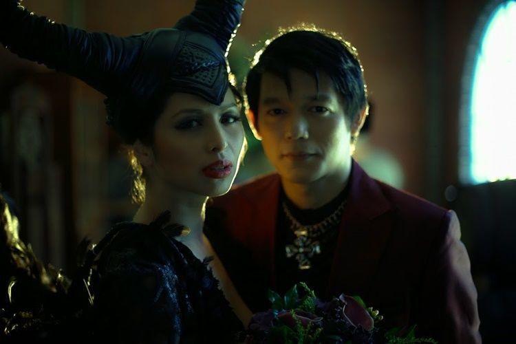 10 Foto Pernikahan Bertema Maleficent, Unik atau Menakutkan?