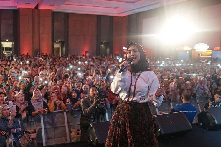 Ria Ricis Bikin Fans Yogyakarta Histeris di YouTube Fanfest 2019