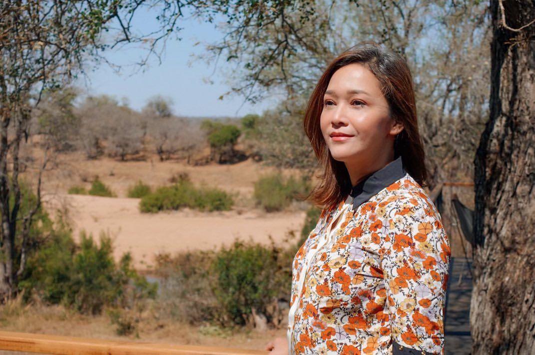 Safari ke Afrika, Gaya Maia Estianty Total Banget!