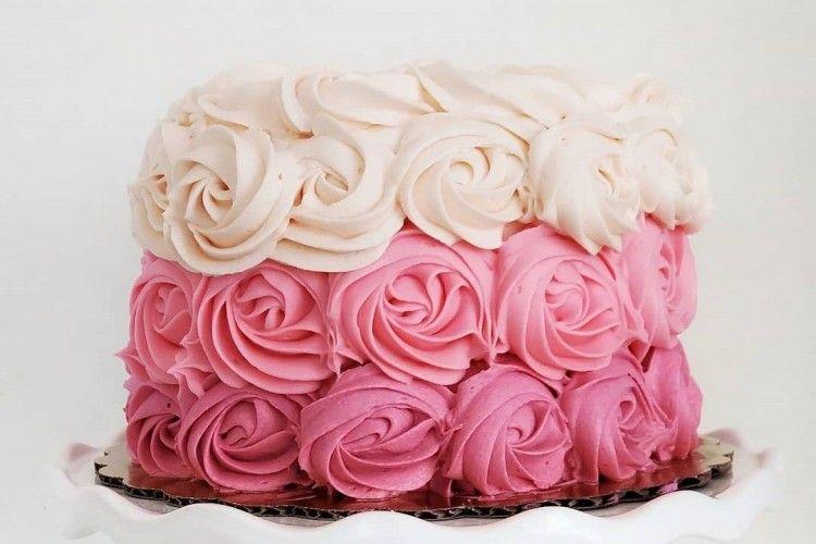 Aneka Ombre Cake Ini Bisa Jadikan Inspirasi Untukmu
