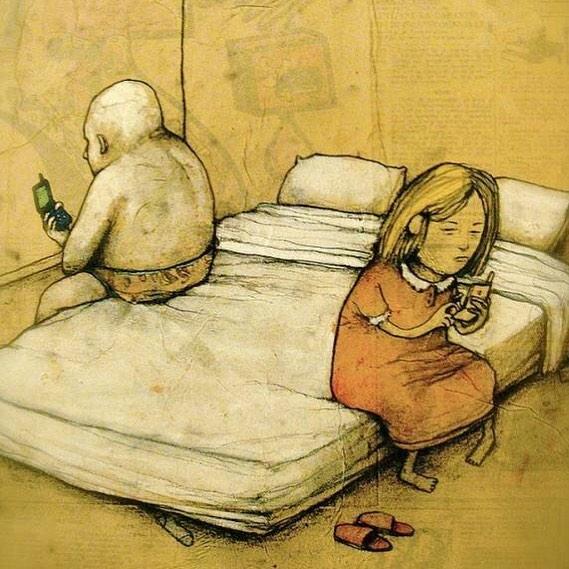 8 Ilustrasi Kontroversial yang Menyindir Kehidupan di Dunia Saat Ini