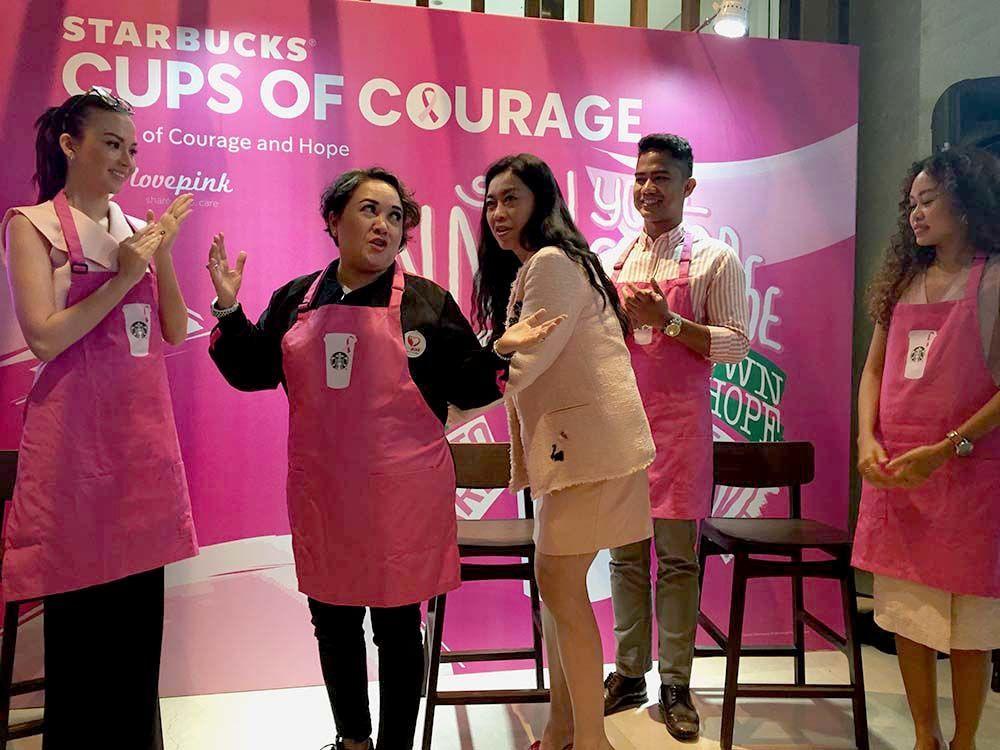 Starbucks Indonesia Tularkan Semangat SADARI Lewat 4 Varian Kopi Pink