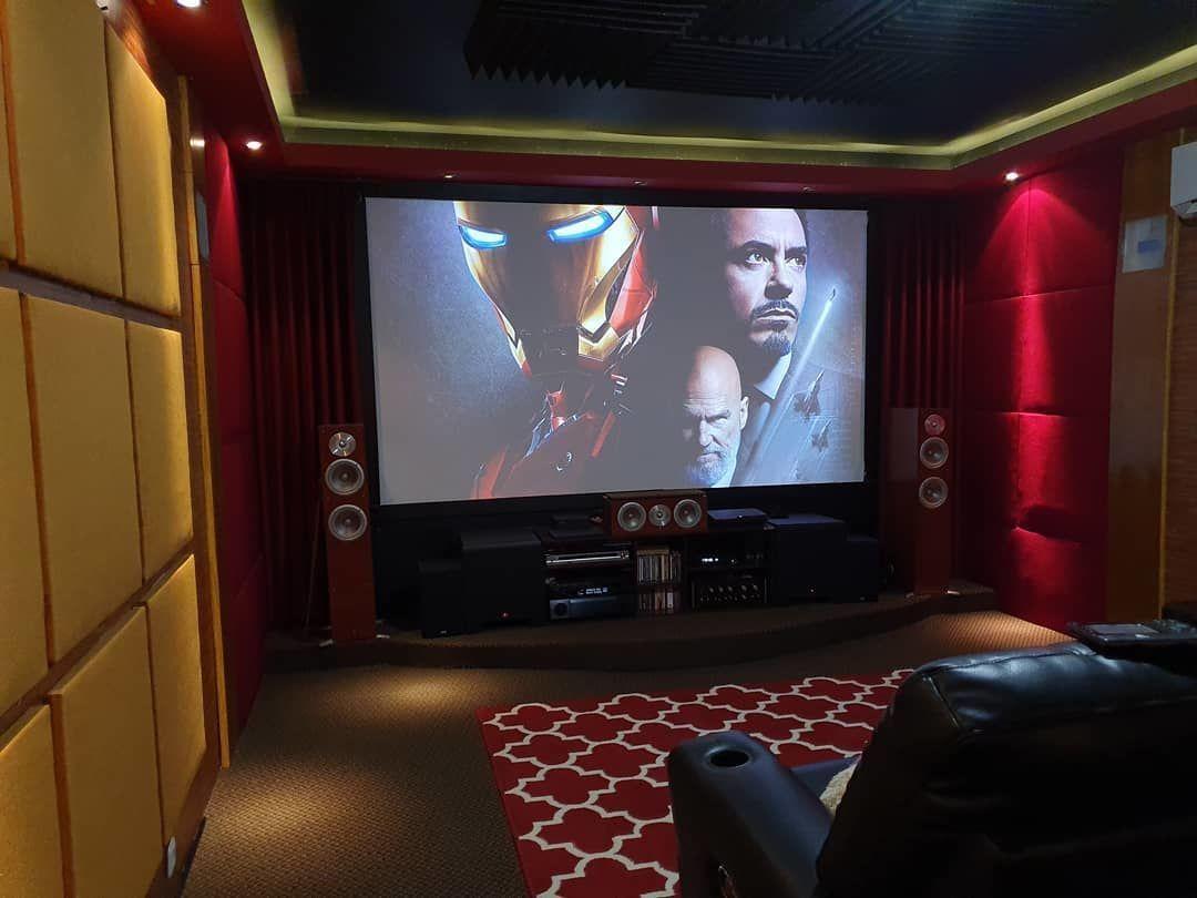 9 Inspirasi Home Theater di Rumah Untuk Si Hobi Nonton