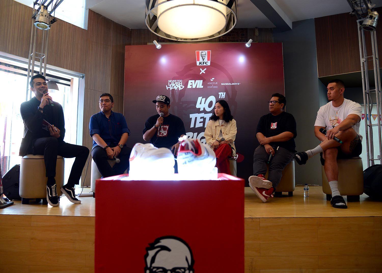 Busana Kekinian, Hasil Kolaborasi KFC Indonesia dan Desainer Muda