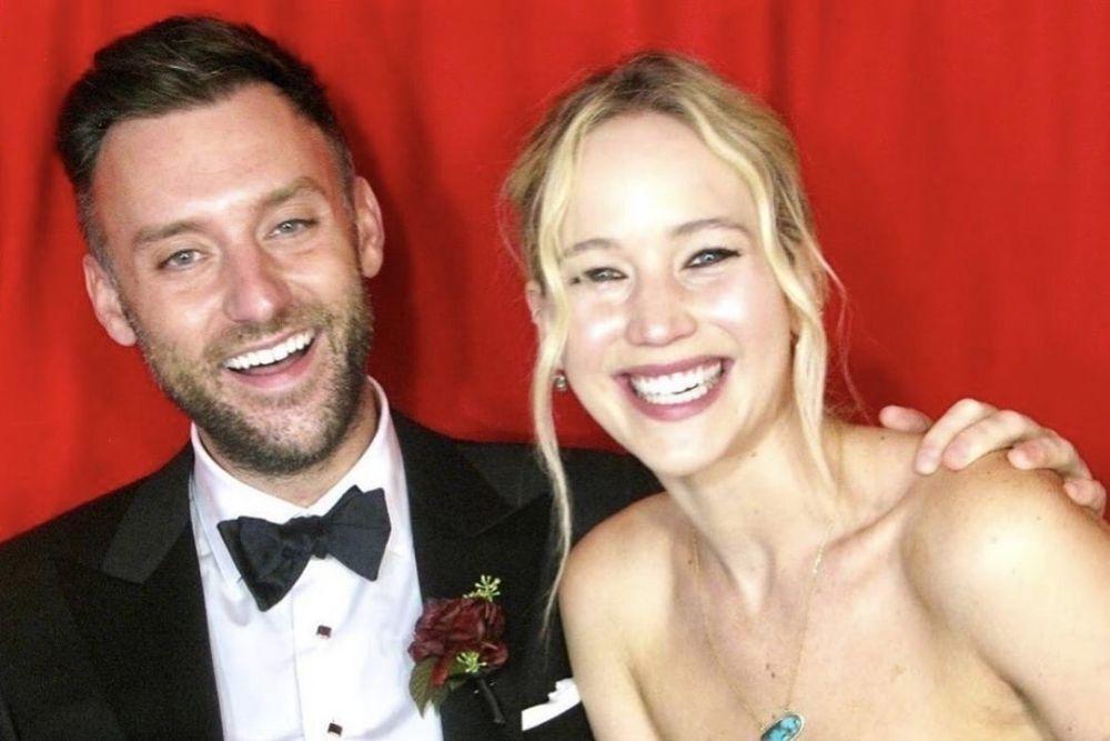 Sah! Jennifer Lawrence dan Cookey Maroney Resmi Menikah