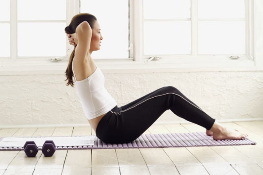 5 movements that can shrink the stomach quickly