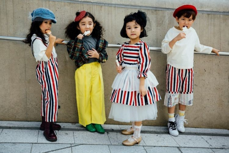 Gaya Gemas Anak-anak Korea di Seoul Fashion Week