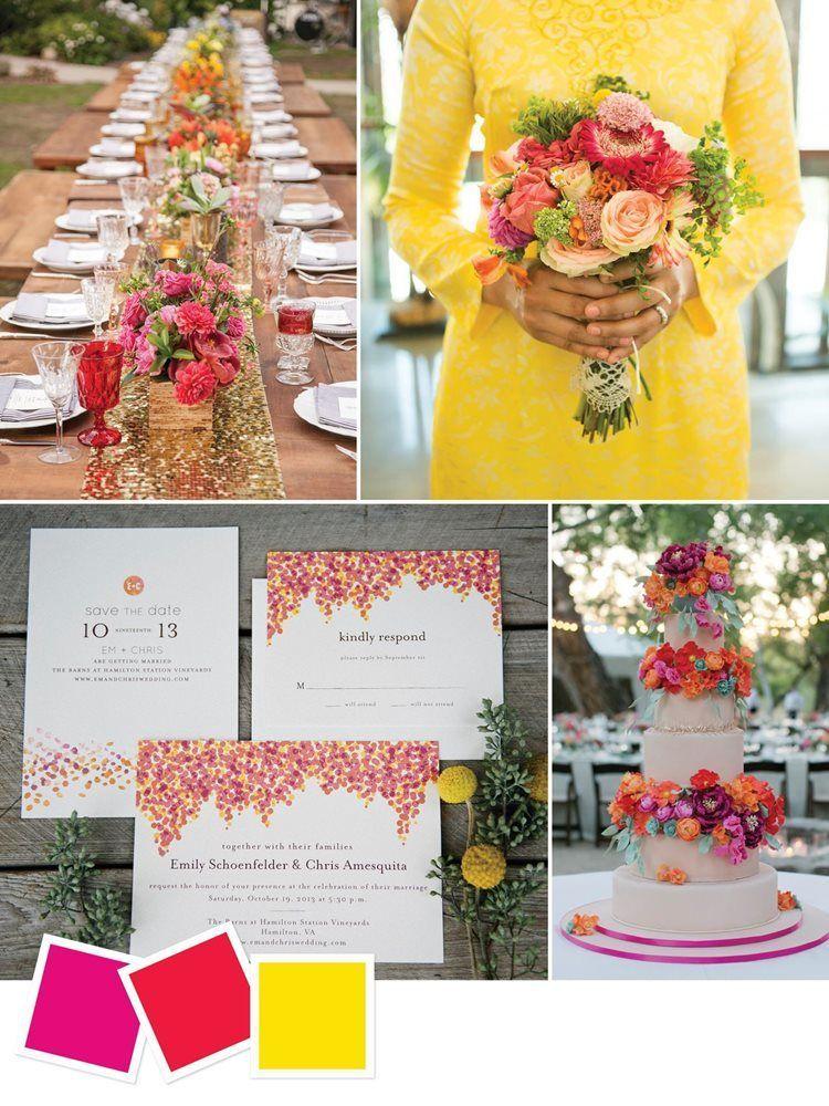 15 Inspirasi Paduan Warna untuk Pesta Pernikahanmu yang Elegan