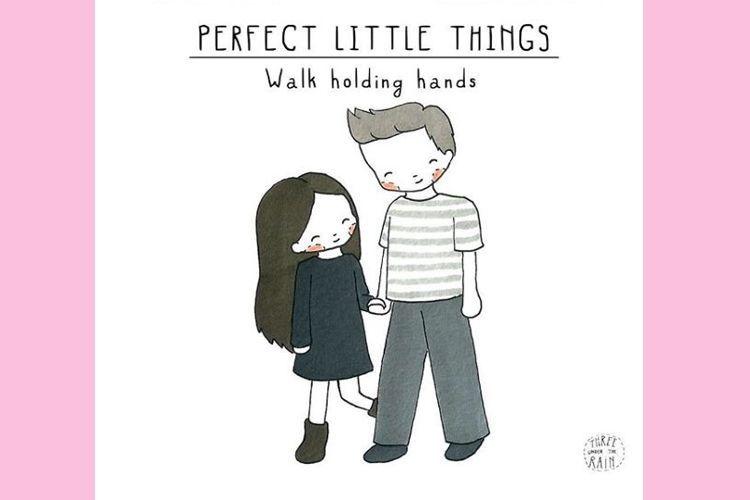 15 Ilustrasi Hal Kecil yang Ternyata Penting dalam Hubungan