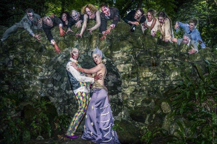 8 Foto Pernikahan Bertema Zombie Ini Bikin Kamu Bergidik Ngeri!