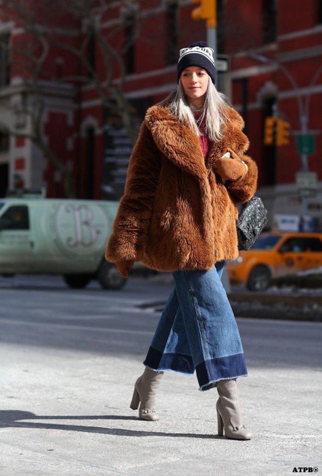 7 Cara Keren Mengombinasikan Mantel Bulu