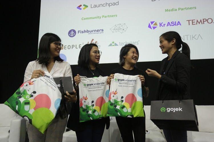 Keren! Gojek Xcelerate Latih 10 Startup yang Didirikan Perempuan