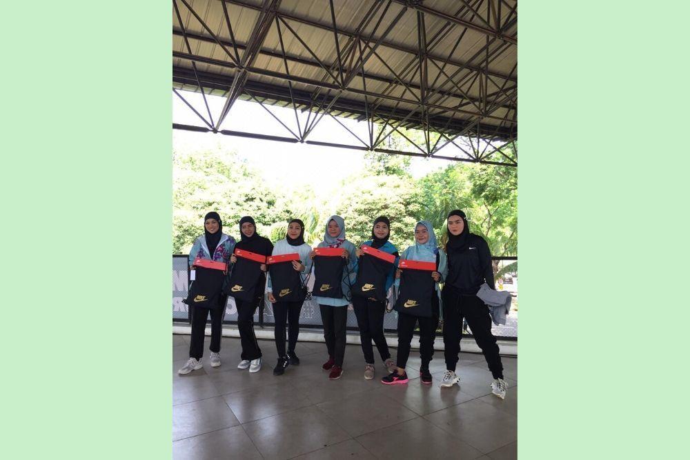 Begini Keseruan Bootcamp #HijabOnFire Clear x Nike
