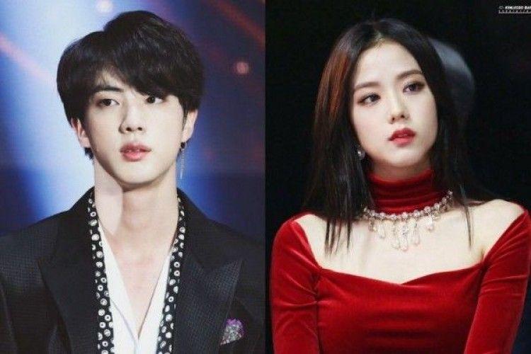 7 Persamaan Tak Terbantahkan Jin BTS dan Jisoo BLACKPINK, Setuju?