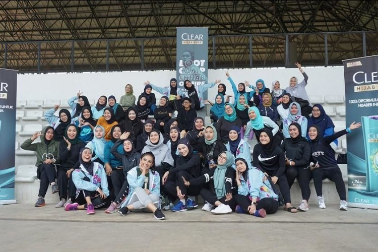 Dukung Para Hijabers, CLEAR Sukses Gelar Acara Bootcamp Hijab On Fire