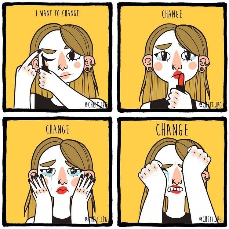 Sedih! 7 Ilustrasi Ini Gambarkan Perempuan yang Belum Bisa Move On